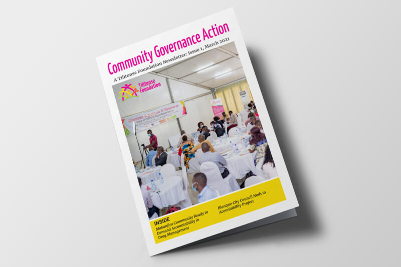 Tilitonse Foundation - Community Governance Action newsletter